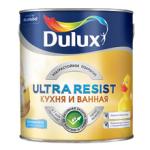 DULUX ULTRA RESIST КУХНЯ И ВАННАЯ краска, полуматовая база BW  2,5 л