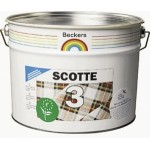Beckers Scotte 3 краска экологичная акрил латексная матовая 10 л
