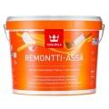 Tikkurila Remontti Assa краска моющаяся, полу-мат, база  А 0,9 л