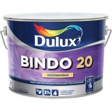 DULUX BINDO 20 краcка интерьерная, суперизносостойкая, влагостойкая, п/мат,  Баз BС (0,9л)