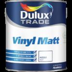 DULUX TRADE VINYL MATT краска для потолка и стен, матовая, База BW 2,5 л