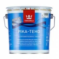 Tikkurila Pika Teho краска фасадная акрил, латексная, матовая, база С 9 л