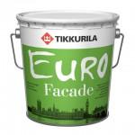 Tikkurila Euro Facade краска фасадная База А 2,7 л