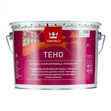 Tikkurila Teho краска фасадная масляная, полу-гл, база А 0,9 л