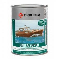 Tikkurila Unica Super яхтный лак полуматовый 9 л