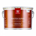 Tikkurila Rostex Super грунт антикоррозийный, красно-коричневый 3 л