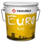 Tikkurila Euro Kiri лак паркетный алкидно-уретановый, глянцевый 2,7 л