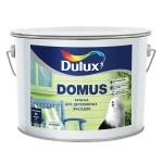 """Dulux Domus"" полуглянцевая масляно-алкидная краска для деревянных фасадных поверхностей, белая 2,5 л"