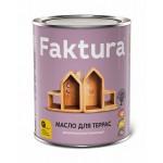 Тунговое террасное масло с натуральным воском