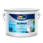 """""""Dulux Domus Aqua"""" полуматовая водно- дисперсионная краска для деревянных фасадных поверхностей,База BW 10л"""