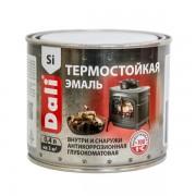 Эмаль Dali термостойкая черная 0,4 л