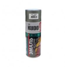 KUDO KU-1027 Эмаль аэрозольная алкидная хром (0,52л)