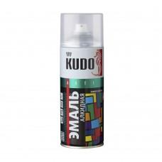 KUDO Эмаль универсальная бордовая 520 мл. KU-10045