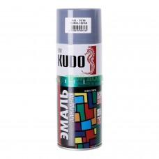 KUDO KU-1016 Эмаль аэрозольная алкидная темно-серая (0,52л)