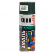 Эмаль аэрозольная Kudo KU-1007 темно-зеленая