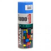 KUDO KU-1010 Эмаль аэрозольная алкидная голубая (0,52л)