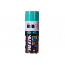 KUDO KU-1006 Эмаль аэрозольная алкидная светло-зеленая (0,52л)