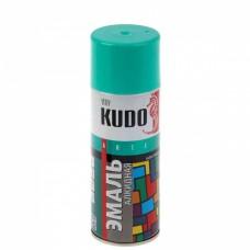KUDO KU-1020 Эмаль аэрозольная алкидная бирюзовая (0,52л)