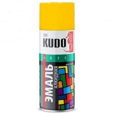 Краска аэрозольная Kudo KU-1013 желтая