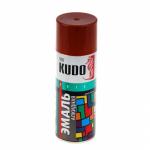 KUDO KU-1023 Эмаль аэрозольная алкидная какао (0,52л)