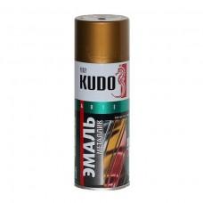 KUDO KU-1029 Эмаль аэрозольная алкидная бронза (0,52л)
