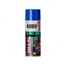 KUDO KU-1011 Эмаль аэрозольная алкидная синяя (0,52л)