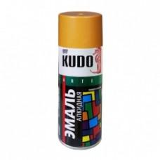 KUDO KU-1022 Эмаль аэрозольная алкидная охра (0,52л)