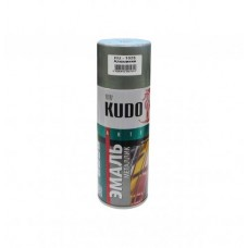 KUDO KU-1025 Эмаль аэрозольная алкидная алюминиевая (0,52л)