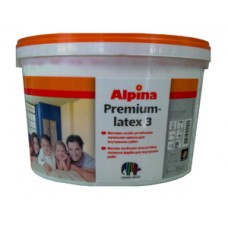 """""""Alpina Premiumlatex 3"""" краска универсальная, акрилатно-латексная, профи 10л"""