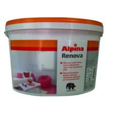 ALPINA RENOVA краска практичная интерьерная в/д для стен и потолков