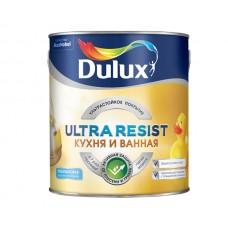 Dulux Ultra Resist / Дулюкс Кухня и ванная ультрастойкая краска для влажных помещений полуматовая