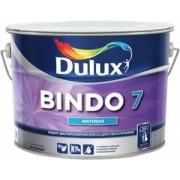 """""""Dulux BINDO 7"""" краска водно-дисперсионная матовая для стен и потолков База BC 9 л"""