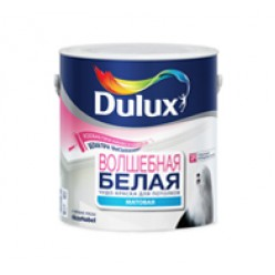 """""""Dulux Magic White-Волшебная Белая"""" краска акриловая матовая для потолков 5л"""