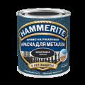 HAMMERITE краска для металла по ржавчине молотковая серая 0.75л