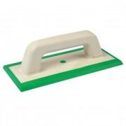 Шпатель резиновый зеленый для нанесения эпоксидной затирки
