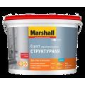 Marshall Export структурная водно дисперсионная краска для стен и потолков белая 10 л