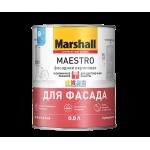 Marshall Maestro краска для фасадных поверхностей, акриловая, матовая, база BW  0,9 л