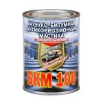 БКМ-100 Антикоррозионная каучуко-битумная мастика 2л