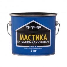 Мастика битумно-каучуковая МГХ-К 3кг