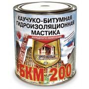 БКМ-200 МАСТИКА КАУЧУКО-БИТУМНАЯ 2л
