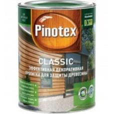 PINOTEX Classic Декоративно-защитная пропитка для древесины /деревяных фасадов/ орегон 1л