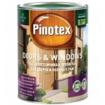 PINOTEX Doors & Windows Высокоустойчивая декоративно-защитная пропитка на водной основе для окон и дверей калужница 10л