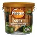 PINOTEX Focus Защитно-декоративное пропитка для заборов и садовых построек зеленый лес 10л