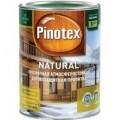 PINOTEX Natural Декоративно-защитная пропитка для древесины подчеркивающая ее натуральный оттенок /для деревяных фасадов/  10л