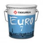 """""""Tikkurila EURO 7 / ЕВРО 7"""" краска акриловая матовая, интерьерная 0.9л"""