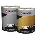 """""""Tikkurila Taika / Тайка"""" краска акриловая лазурь перламутровая золотистая, интерьерная 0.9л"""