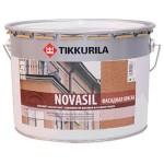 """""""Tikkurila Новасил / Novasil"""" краска силик фасадная, 2,7л"""