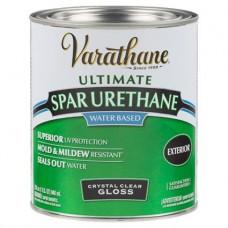 Лак акрил-уретановый на водной основе для наружных работ Varathane Premium Spar Urethane 3,78 л