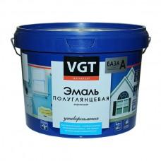 ВГТ / VGT ВДАК 1179 акриловая универсальная эмаль, полуглянцевая  белый