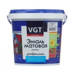 Эмаль акриловая матовая супербелая основа А VGT